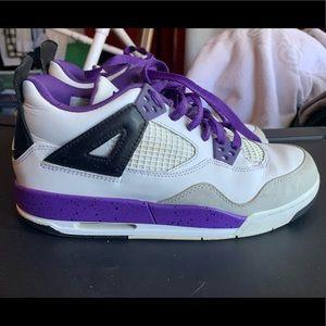 Girls air Jordan's retro 4 GS 7